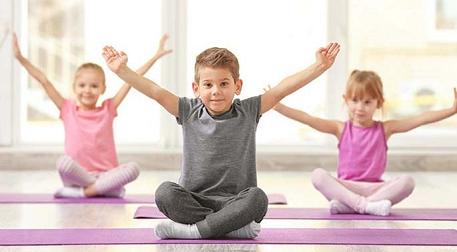 Yalı'da Çocuk Yogası