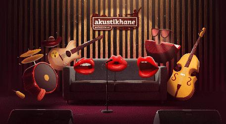 Akustikhane Sahne'de