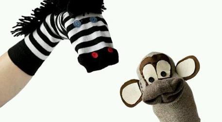 Çorap Kukla Gösterisi