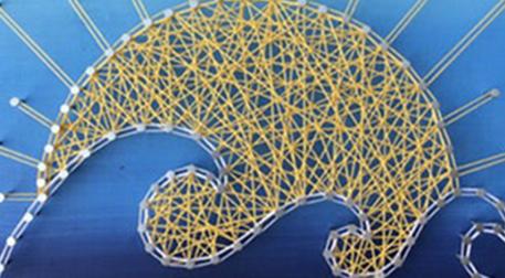 Masterpiece Galata String Art - Doğ