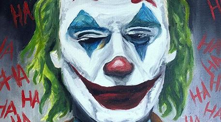 Masterpiece Maslak Resim - Joker