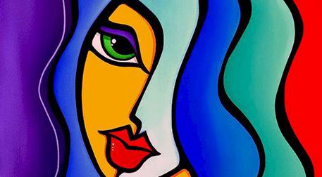 Masterpiece Maslak Resim -Pop Art P