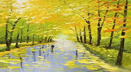 Masterpiece Maslak Resim - Sarı Son