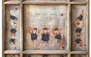 """Mevlüt Akyıldız """"Terazi Lastik Cimnastik"""" İsimli Sergisiyle Gallery11.17' De"""