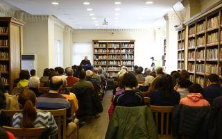 Tesak'da Edebiyat, Felsefe, Tarih Söyleşileri Başlıyor