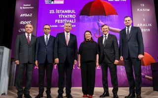23. İstanbul Tiyatro Festivali Ödül Gecesi Ses Tiyatrosu'nda Gerçekleştirildi