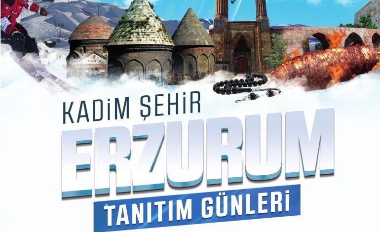 Erzurum Tanıtım Günleri Başlıyor
