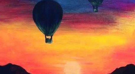 Masterpiece Maslak Resim - Balloons