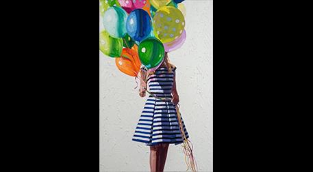 Masterpiece Maslak Resim -Balonlu K