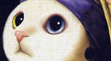 Masterpiece Maslak Resim -İnci Küpe