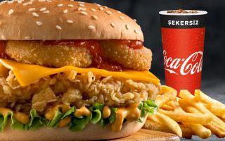 KFC'den Bir ilk: Kentucky Burger