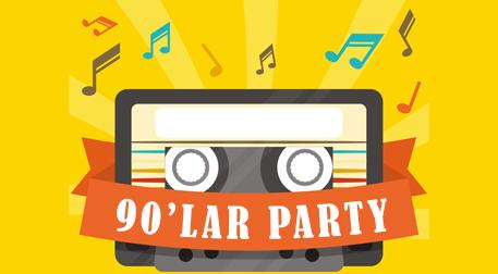 90lar Türkçe Pop Party