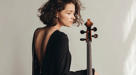 Anastasia Kobekına Solo Viyolonsel