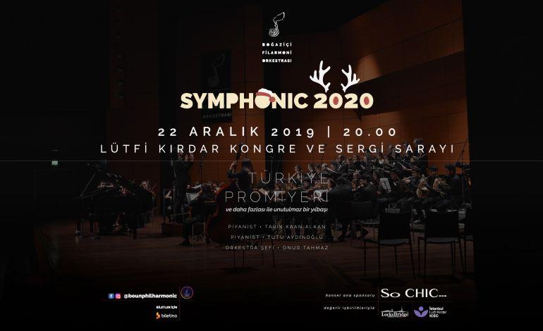 """Boğaziçi Filarmoni Orkestrası'ndan """"Senfonik 2020"""" Konseri"""