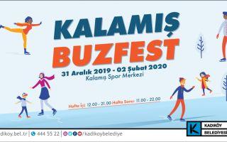 Kadıköy Belediyesi Yeni Yıla Buzfest İle Giriyor