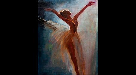 Masterpiece Galata Resim - Balerin