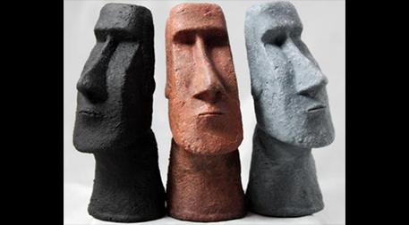 Masterpiece Maslak Heykel - Moai