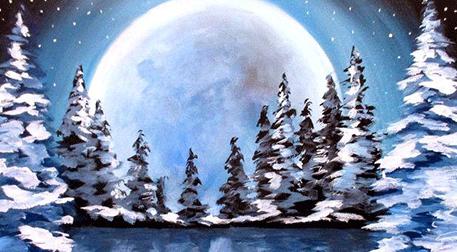 Masterpiece Maslak Resim -Karlı Orm