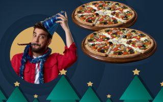 Domino's Pizza'dan 2020 Yılında Bol Bol Mutluluk