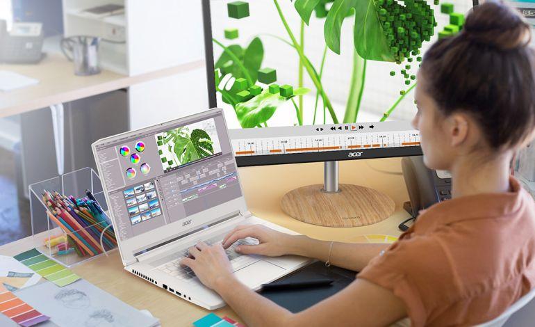 Acer'ın Yaratıcılığa İlham Veren Dizüstü Bilgisayarı