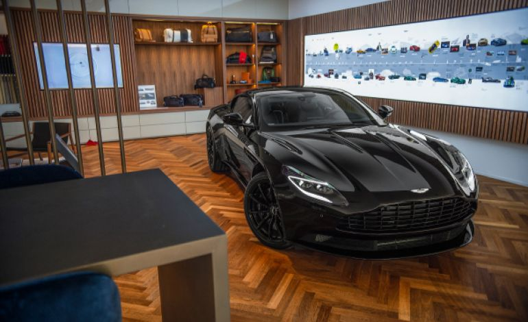 Aston Martin Turkey Showroom'da Yerini Aldı