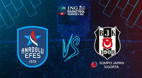 Anadolu Efes - Beşiktaş Sompo Japan