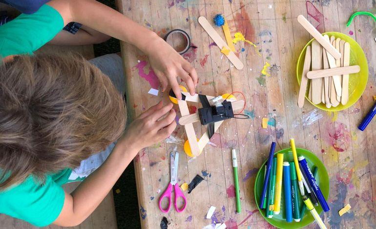 Çocuklar Yarıyıl Tatilinde Arter'de