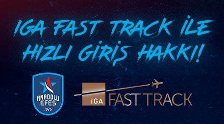 İGA Fast Track ile Hızlı Giriş Hakk