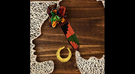 Masterpiece Galata String Art -Afro