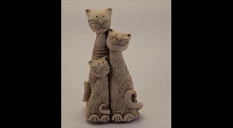 Masterpiece Maslak Heykel - Kedi Ai