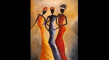 Masterpiece Maslak Resim - Afrikalı