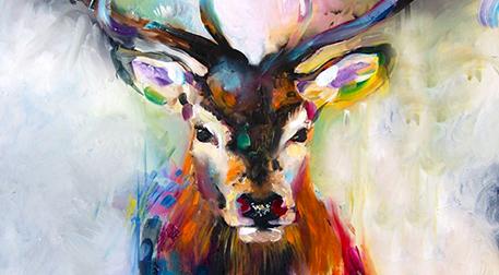 Masterpiece Maslak Resim -Geyik