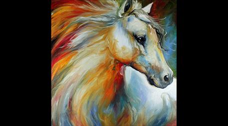 Masterpiece Maslak Resim -Pegasus