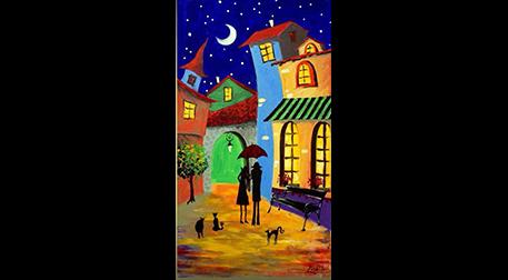 Masterpiece Maslak Resim -Renkli Rü