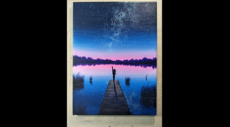 Masterpiece Maslak Resim -Samanyolu