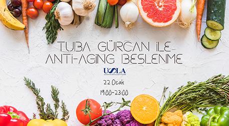 Tuba Gürcan ile Anti-Aging Beslenme