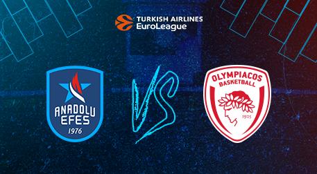 Anadolu Efes - Olympiacos