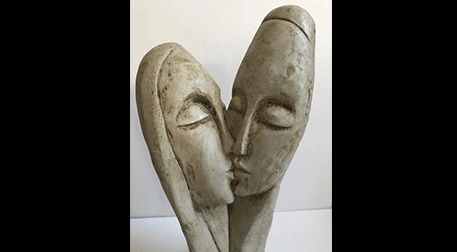 Masterpiece Galata Heykel -Kiss