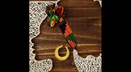Masterpiece Galata String Art -Afro