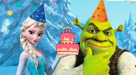 Shrek Karlar Ülkesi Doğum Günü