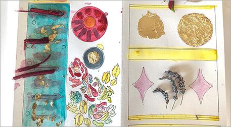 Şifalı Sayfalar: Doğal Mürekkeple