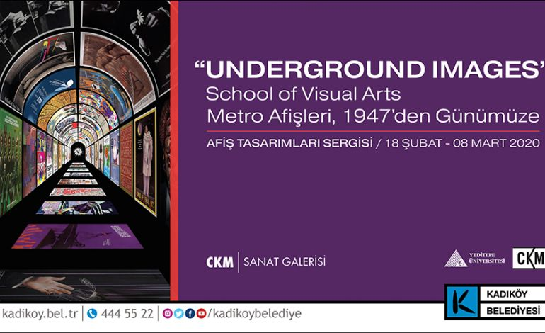Underground Images: School Of Visual Arts Metro Afişleri, 1947'den Günümüze