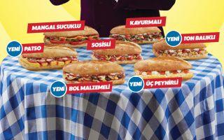 Domino's Ekmek Arası Efsanesine Katılan 4 Yeni Lezzet
