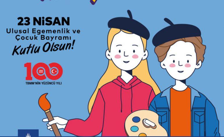 İstanbul Büyükşehir Belediyesi'nden Hayalimdeki 23 Nisan Resim Yarışması