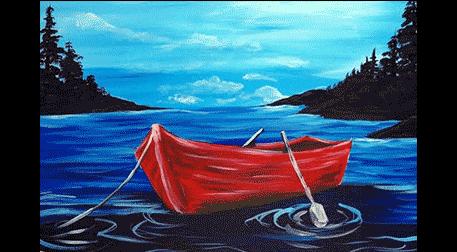 Masterpiece Galata Resim - Kırmızı