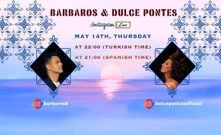 Barbaros Canlı Yayında Dulce Pontes'i Konuk Ediyor