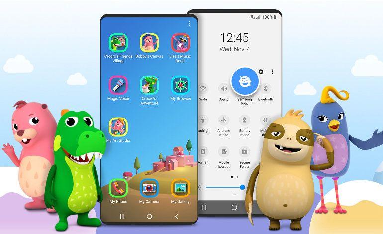 Samsung Kids Aarayüz Uygulaması