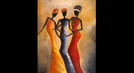 Masterpiece Maslak Resim-Afrika