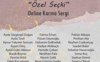 Özel Seçki Online Karma Resim Sergisi