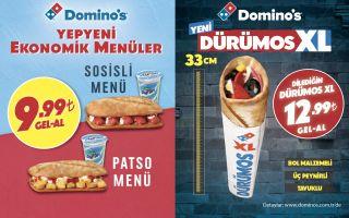 Domino's Sofrası Yepyeni Lezzetlerle Genişliyor